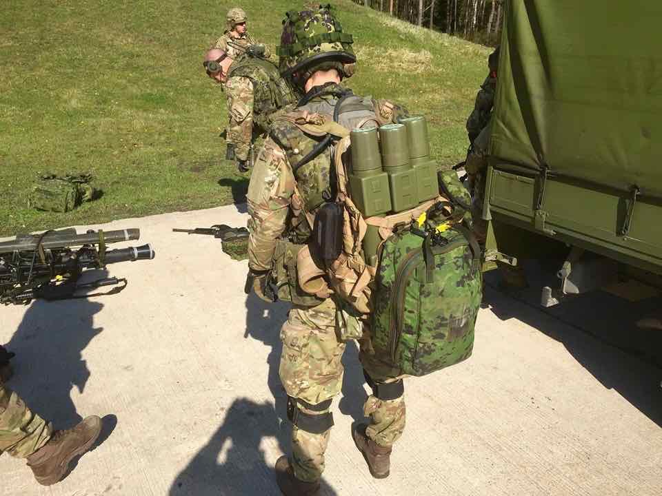 dansk militær udrustning