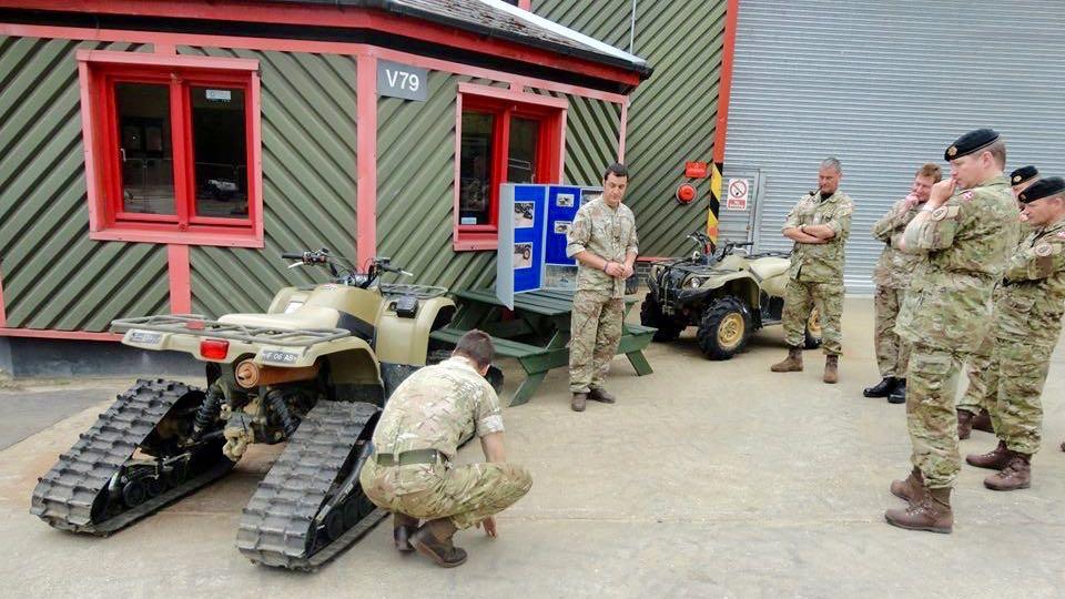 hærens sergentskole baret